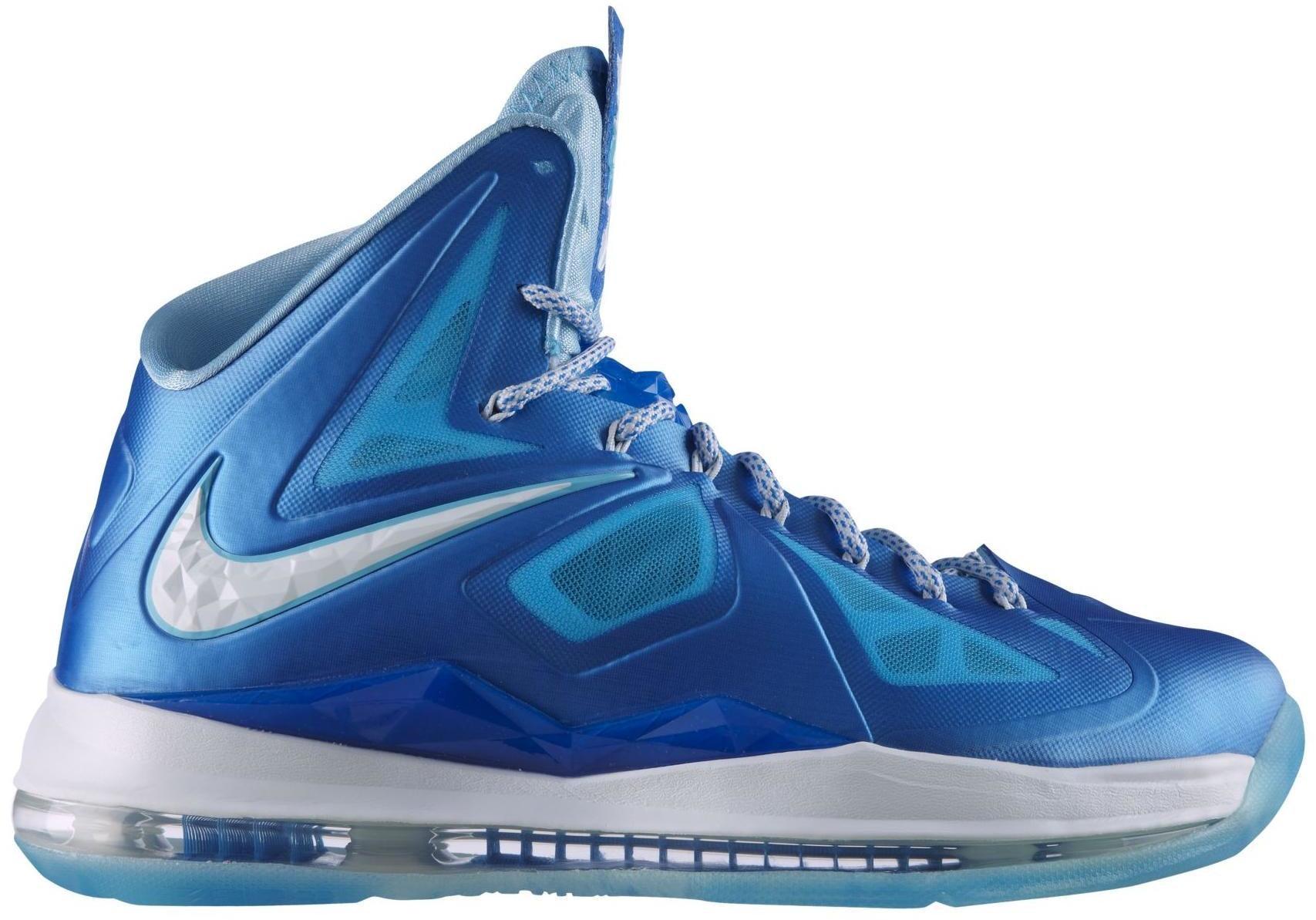 LeBron X+ Blue Diamond