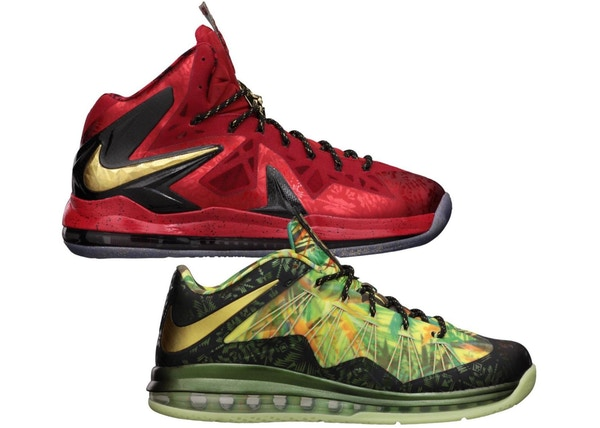 the latest 9ccba d3c78 LeBron X Celebration Pack