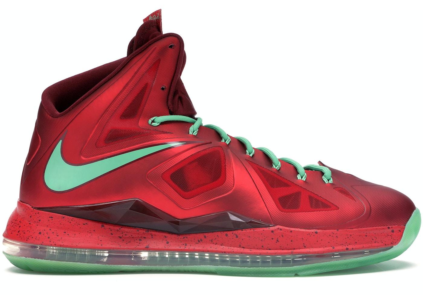 Nike Lebron X Christmas 541100 600