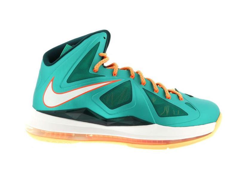Nike LeBron X Miami Dolphins - 541100-302