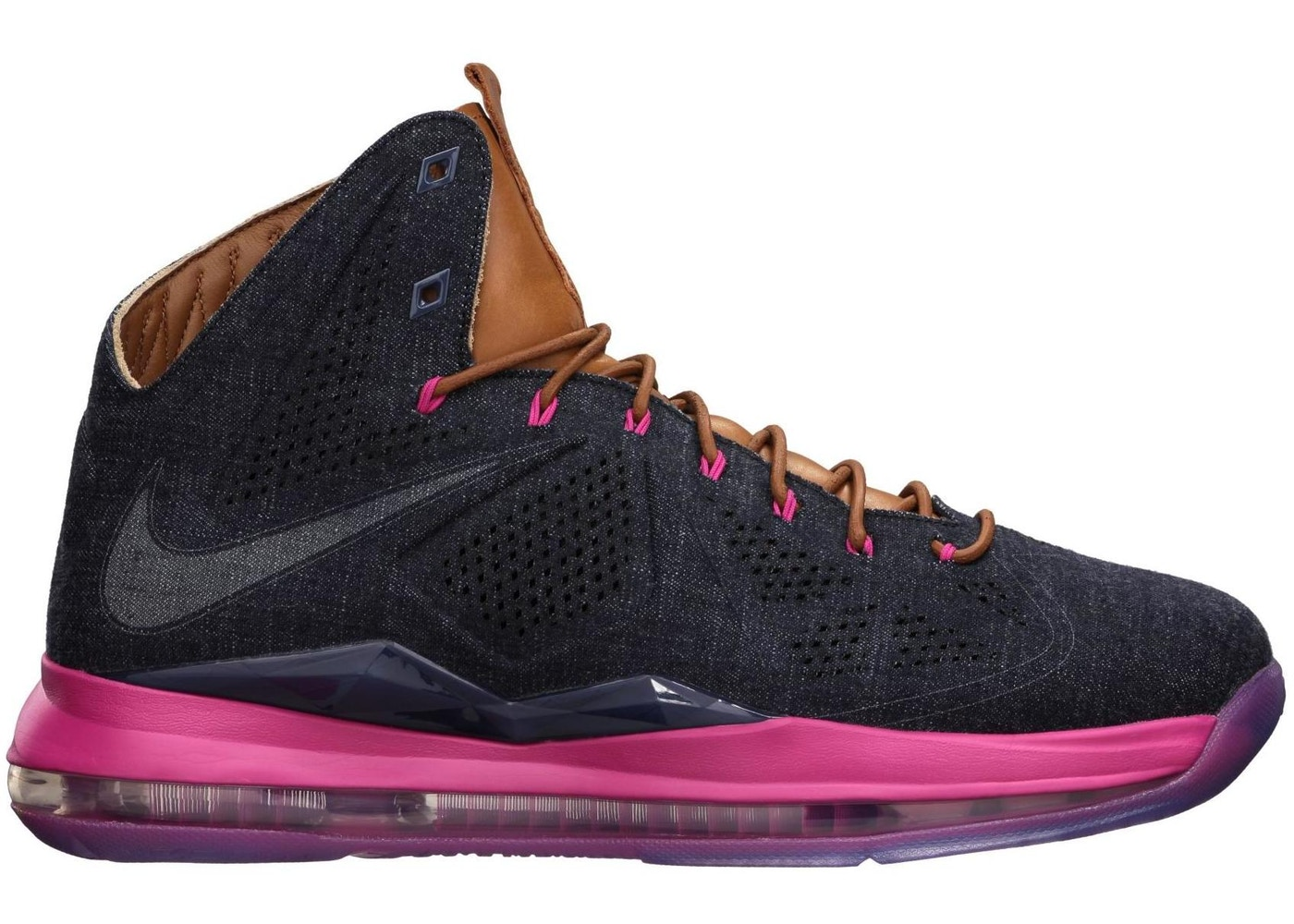 check out ffbef 2882c LeBron X EXT Denim - 597806-400