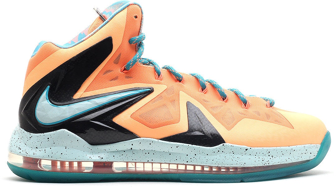 LeBron X Elite Peach Jam