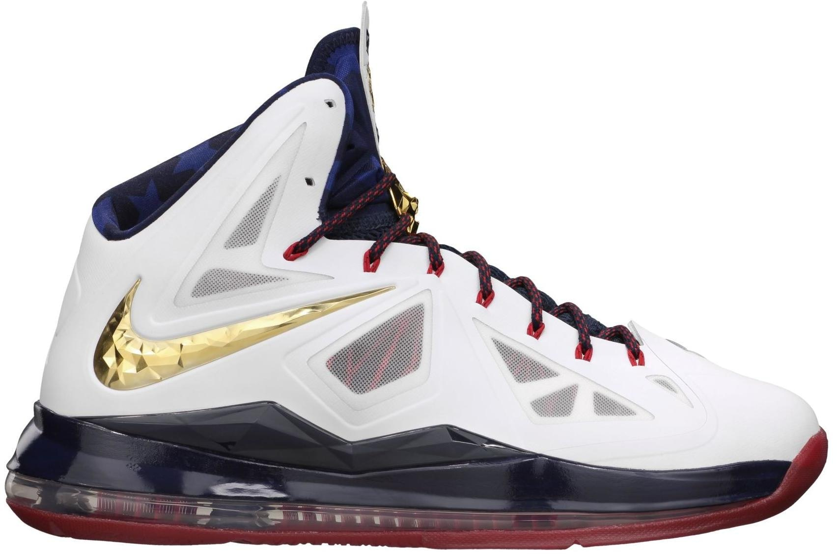LeBron X SP Gold Medal
