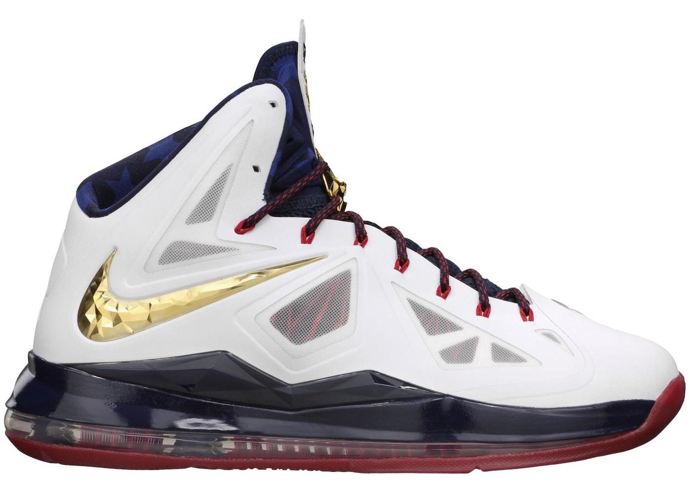 Nike LeBron 10 Shoes - Average Sale Price d8251a134