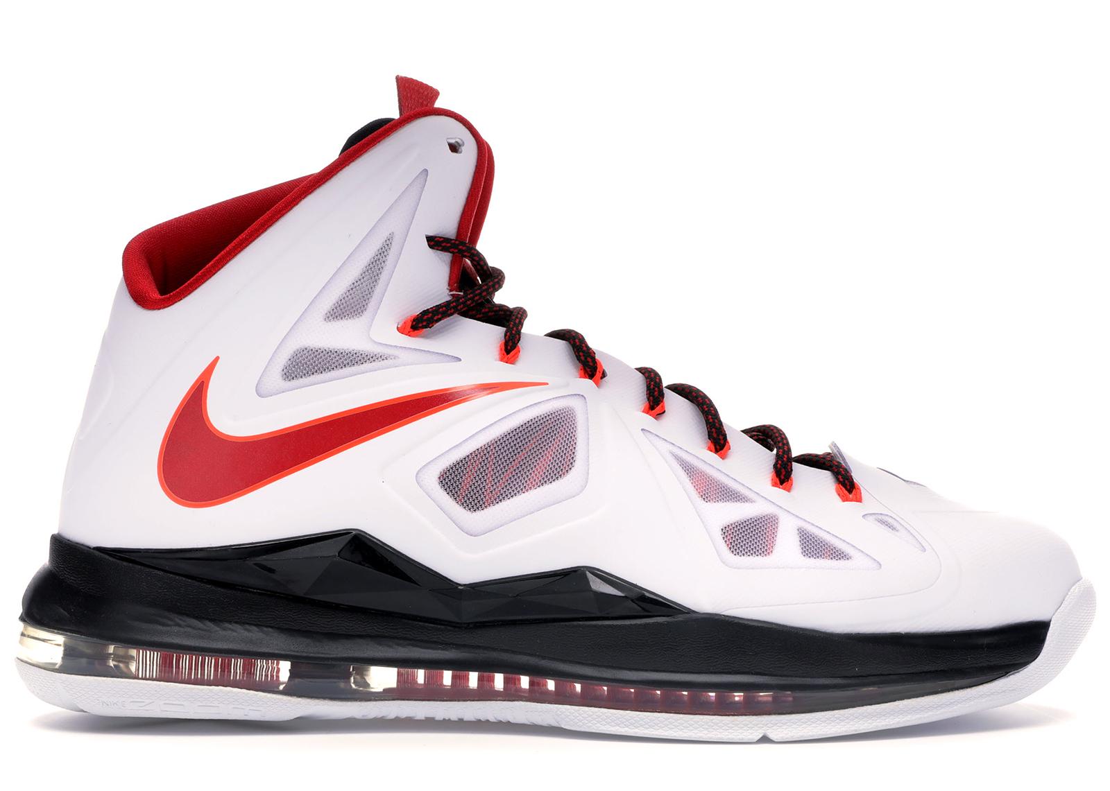 Nike LeBron X Home - 541100-100