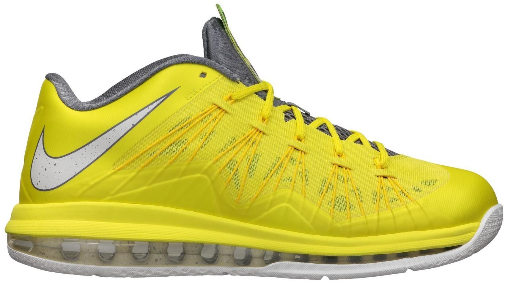 LeBron X Low Sonic Yellow