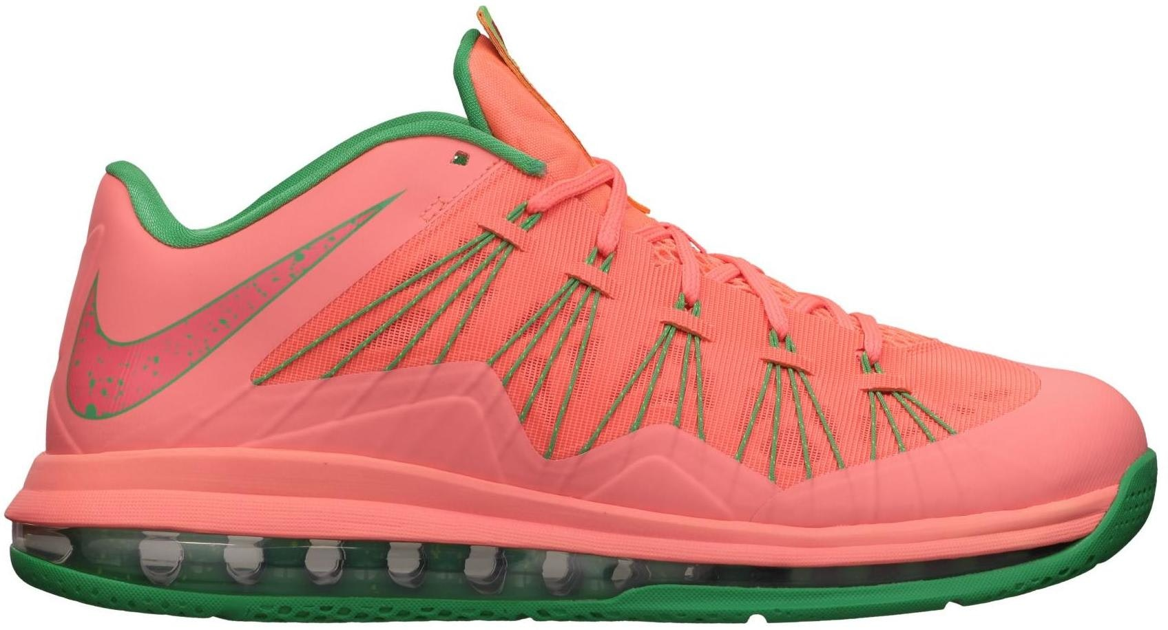 LeBron X Low Watermelon