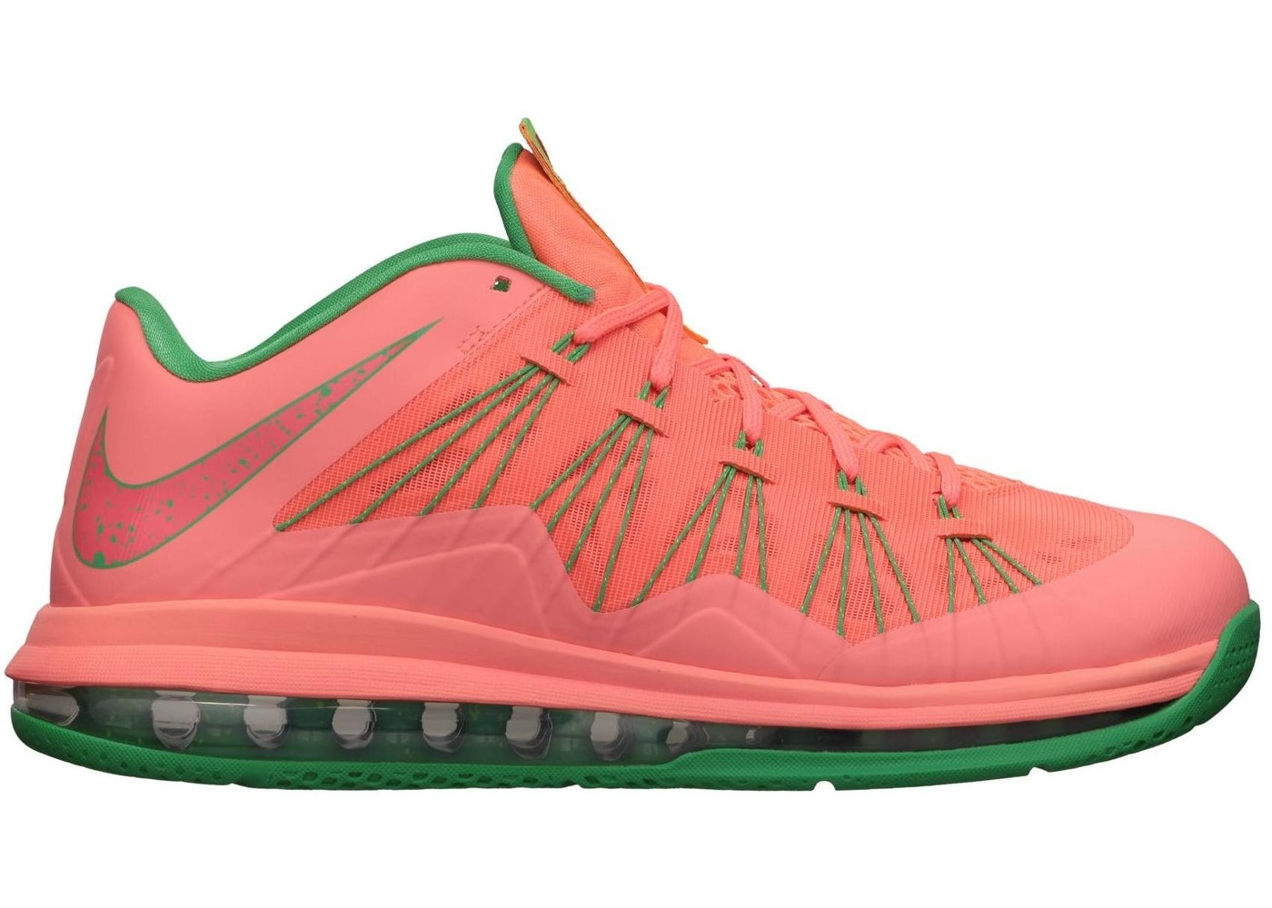 100% authentic ed6bf 032fe LeBron X Low Watermelon