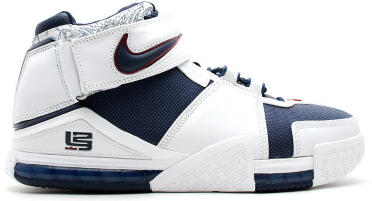 Nike LeBron Zoom 2 Midnight Navy