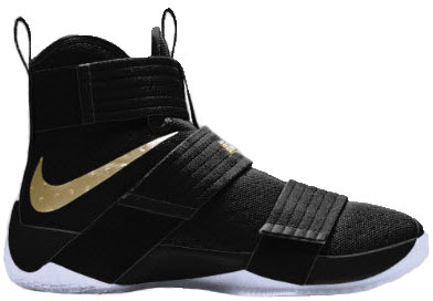 new product ef45a 957a2 get lebron zoom soldier 10 black gold nike id 885682 991 a6b18 ba0f9