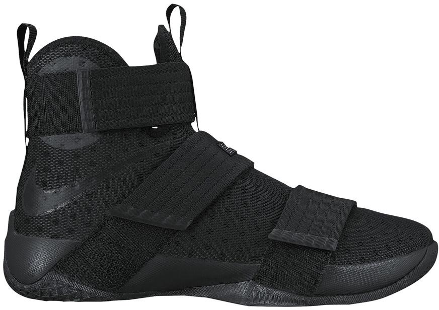 Nike LeBron Zoom Soldier 10 Black Space