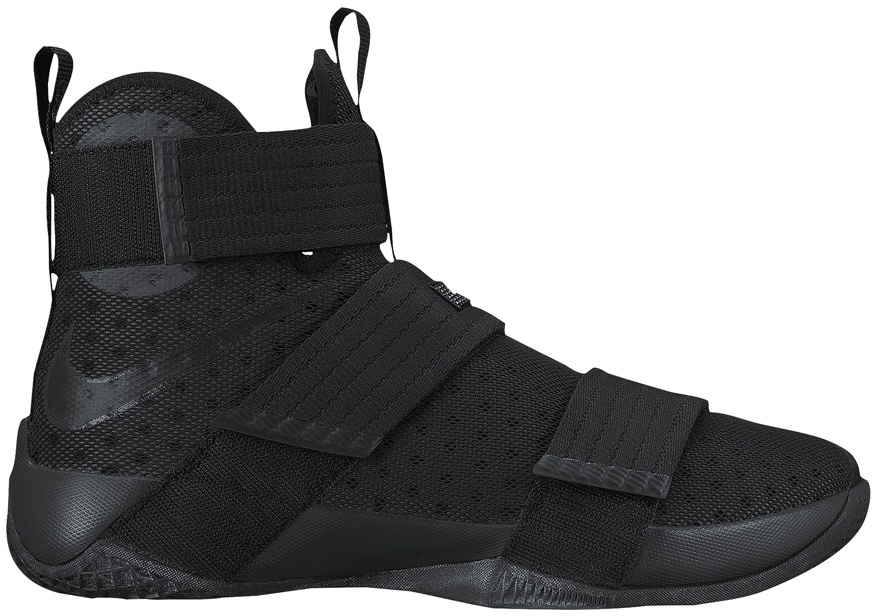 LeBron Zoom Soldier 10 Black Space