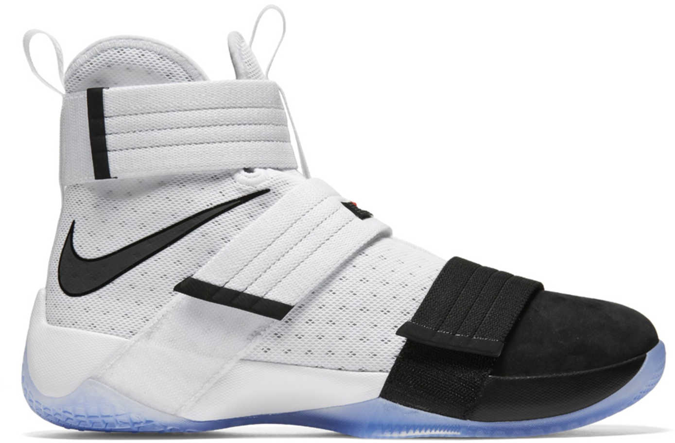 LeBron Zoom Soldier 10 Black Toe