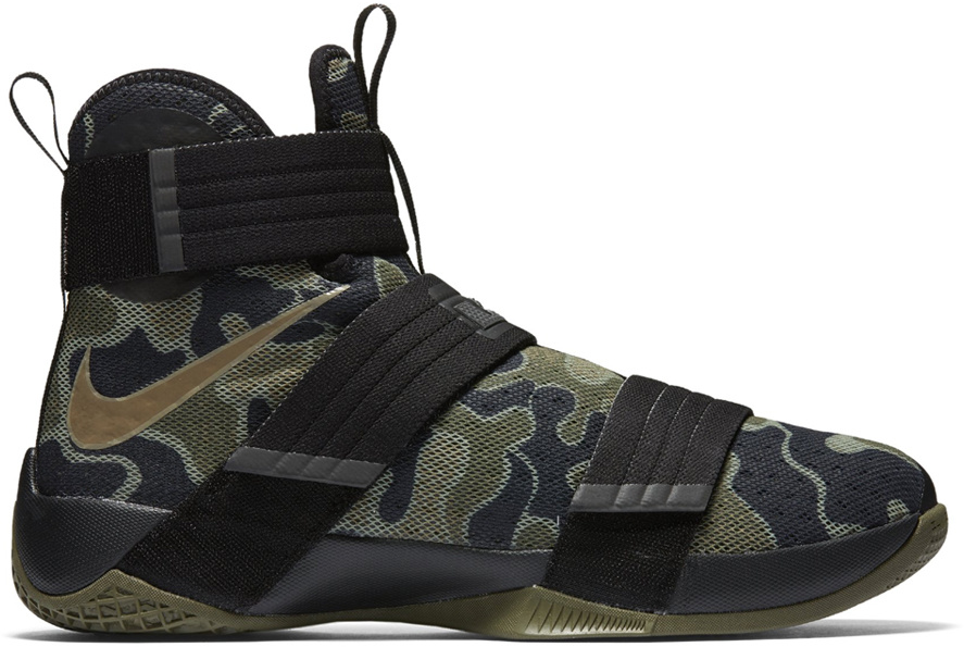 LeBron Zoom Soldier 10 SFG Camo