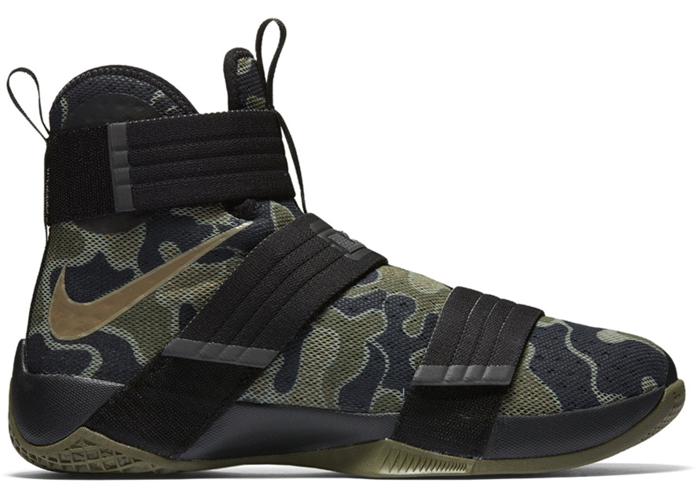 save off 3828e 991cd LeBron Zoom Soldier 10 SFG Camo