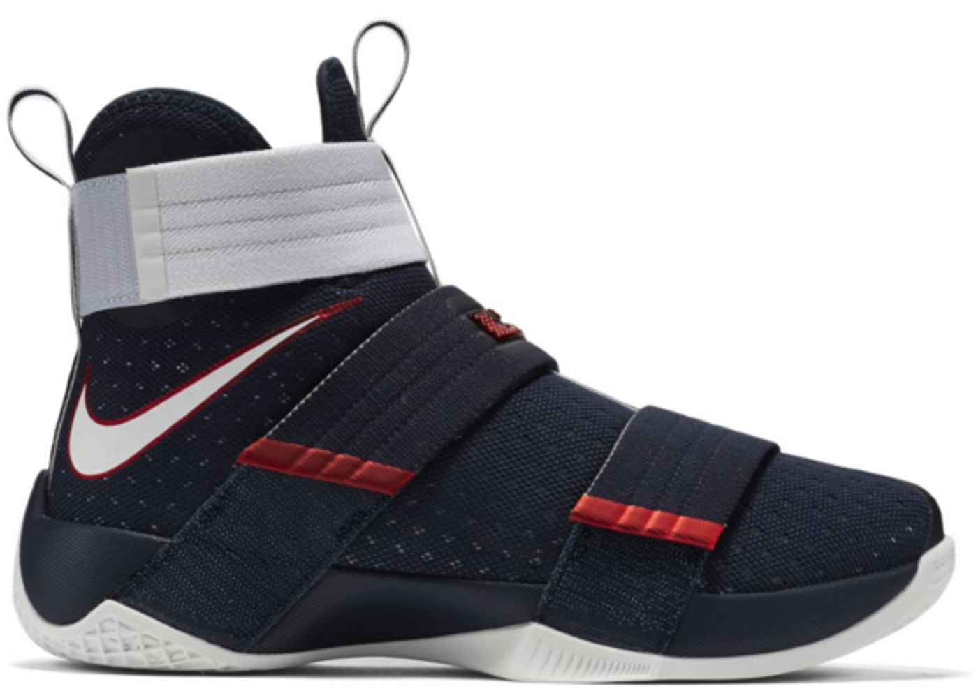 meet cf90e d3dea LeBron Zoom Soldier 10 USA - 844379-416