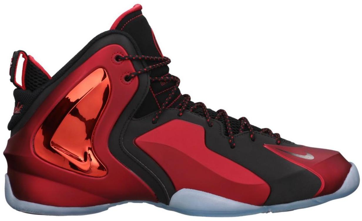 NIKE Lil Penny Posite Mens Basketball Shoes New All Black Red  N27o2025
