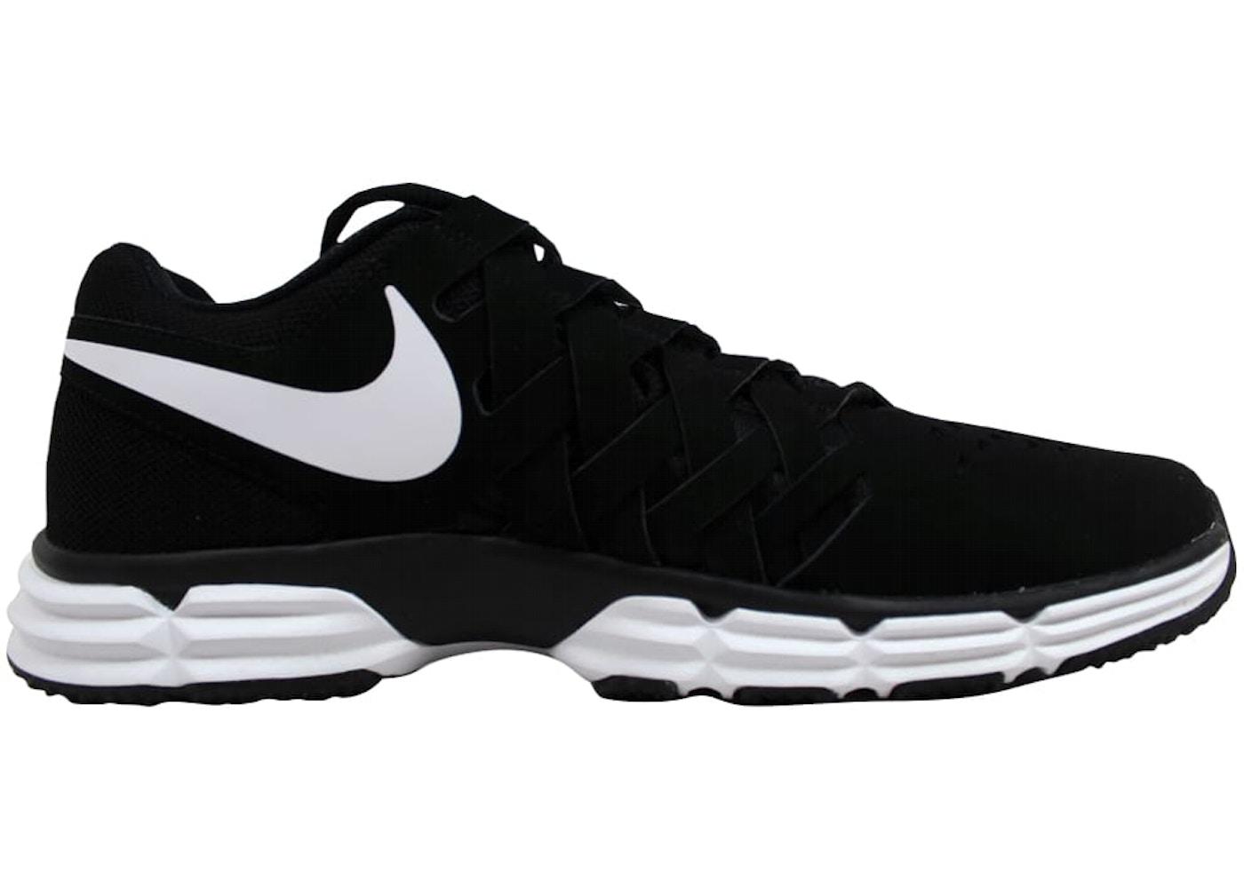 a8af821601b8 Nike Lunar Fingertrap TR Black White-Black - 898066-001
