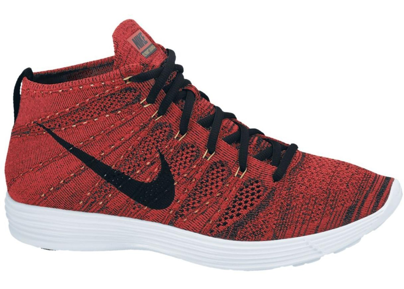 c7e8b5b20 Nike Lunar Flyknit Chukka University Red Metallic Gold - 554969-671