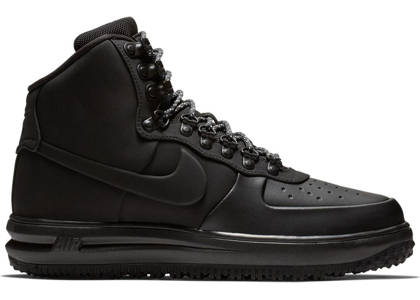 best service 92292 055a2 Nike Lunar Force 1 Duckboot 18 Triple Black
