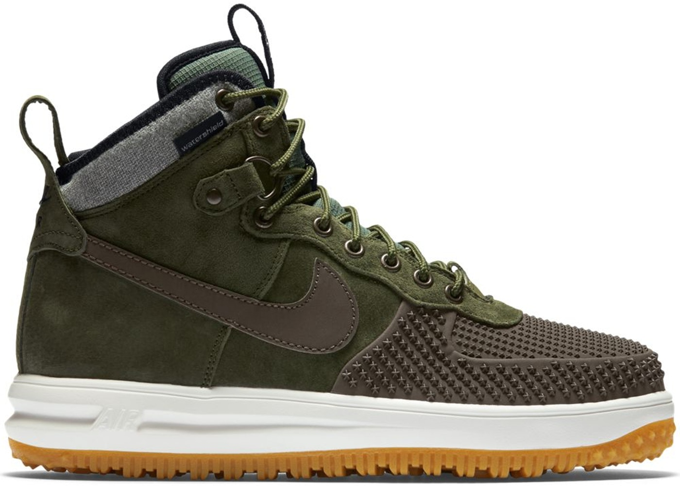 huge selection of 897fd 6b2dd Nike Lunar Force 1 Duckboot Baroque Brown Army Olive