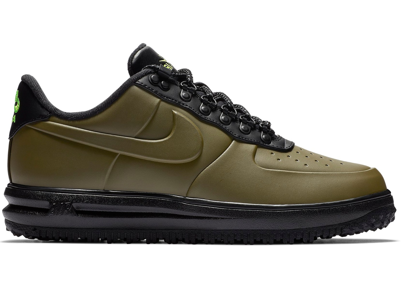 new concept 30cf8 bf56b Nike Lunar Force 1 Duckboot Low Olive Canvas