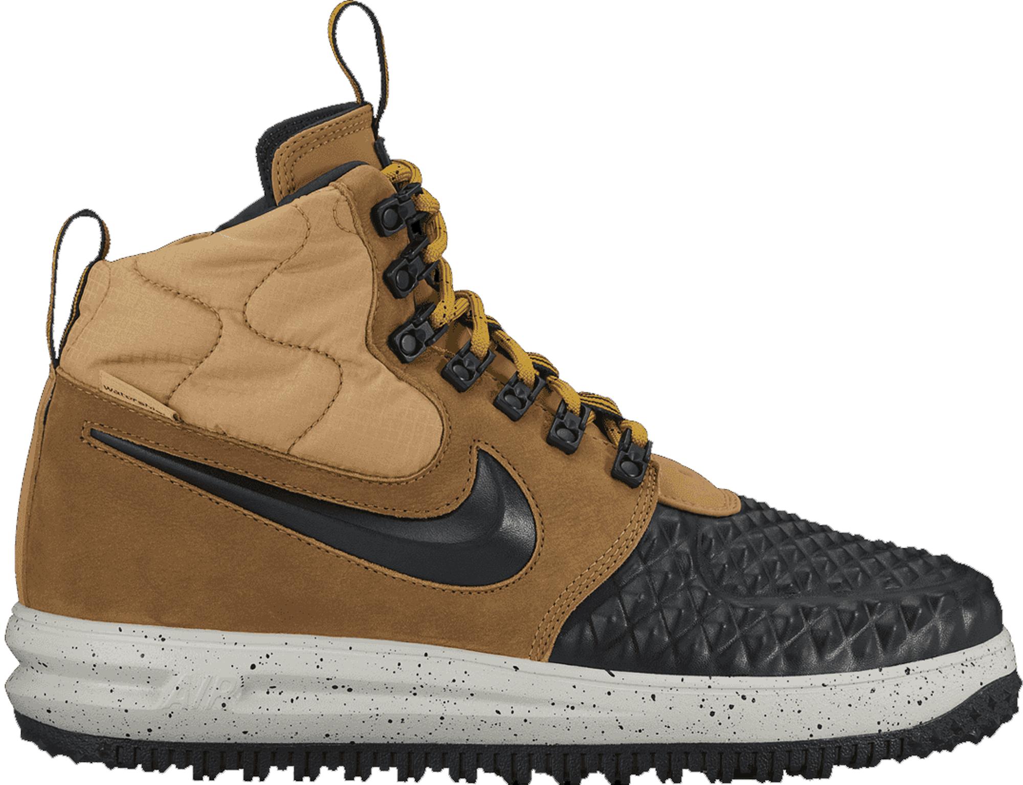 Nike Lunar Force 1 Duckboot Metallic Gold