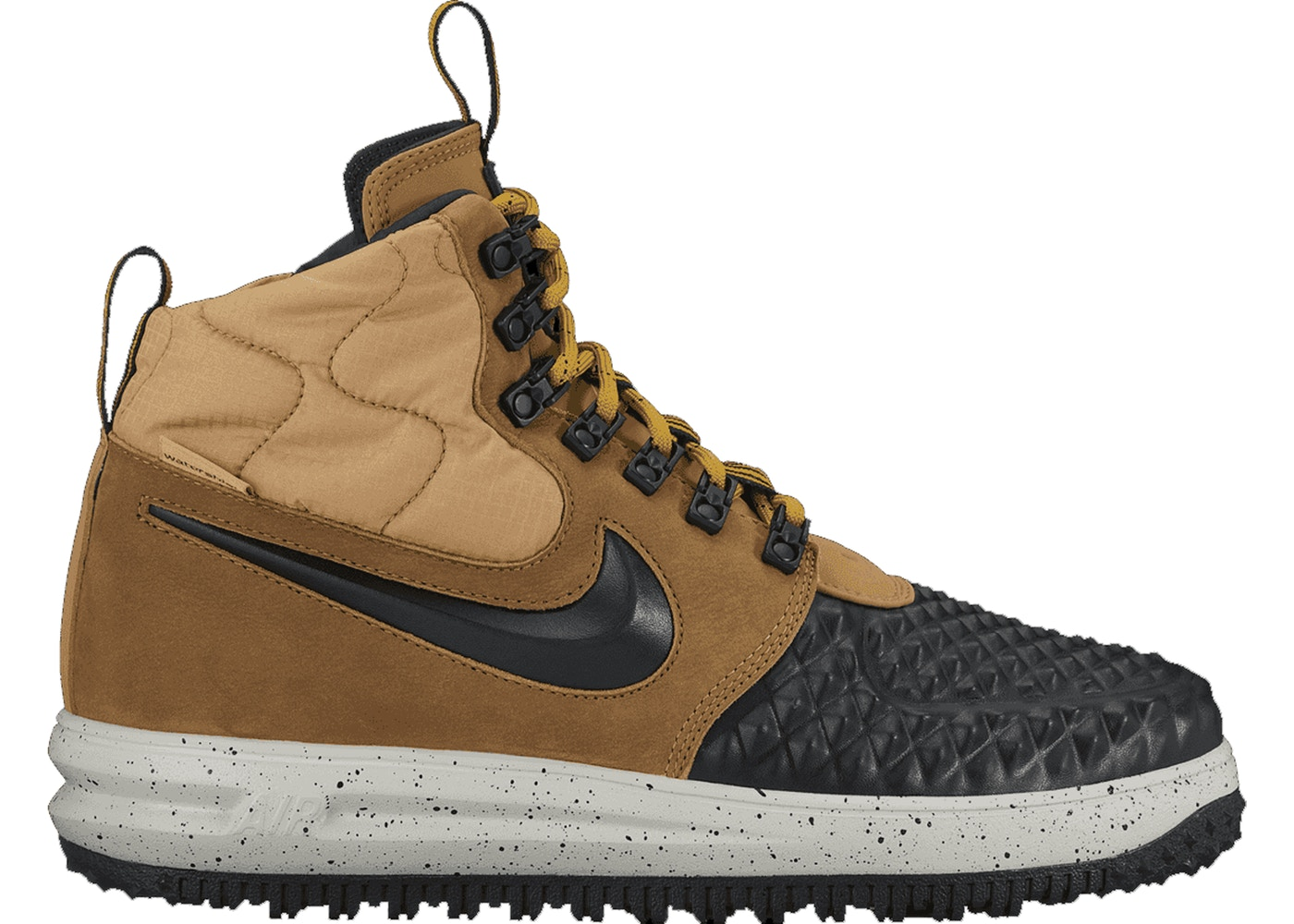 Nike Lunar Force 1 Duckboot Metallic Gold