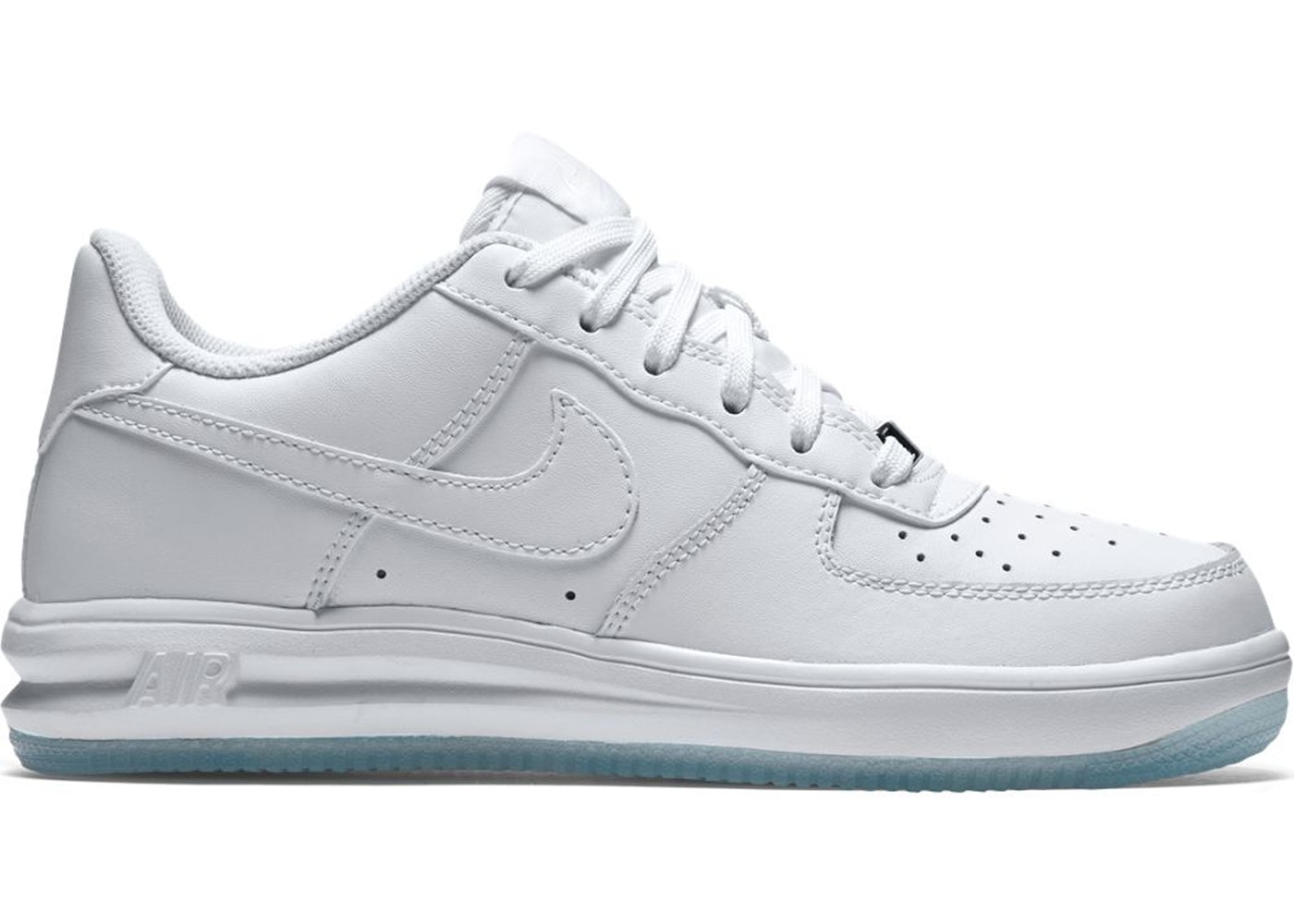 Nike Lunar Force 1 Low White Ice (GS) 820343 100