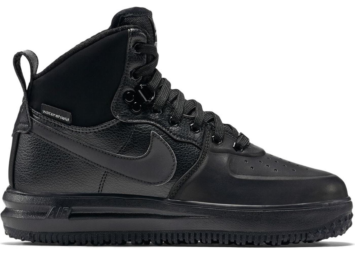 Nike Lunar Force 1 Sneakerboot Black (GS)