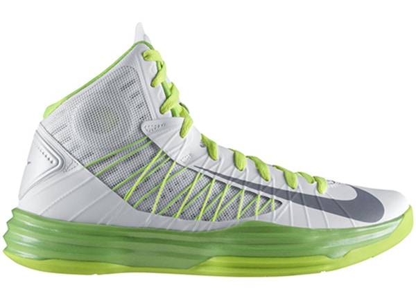 competitive price e554f a9f1b Nike Lunar Hyperdunk 2012 White Electric Green - 524934-106