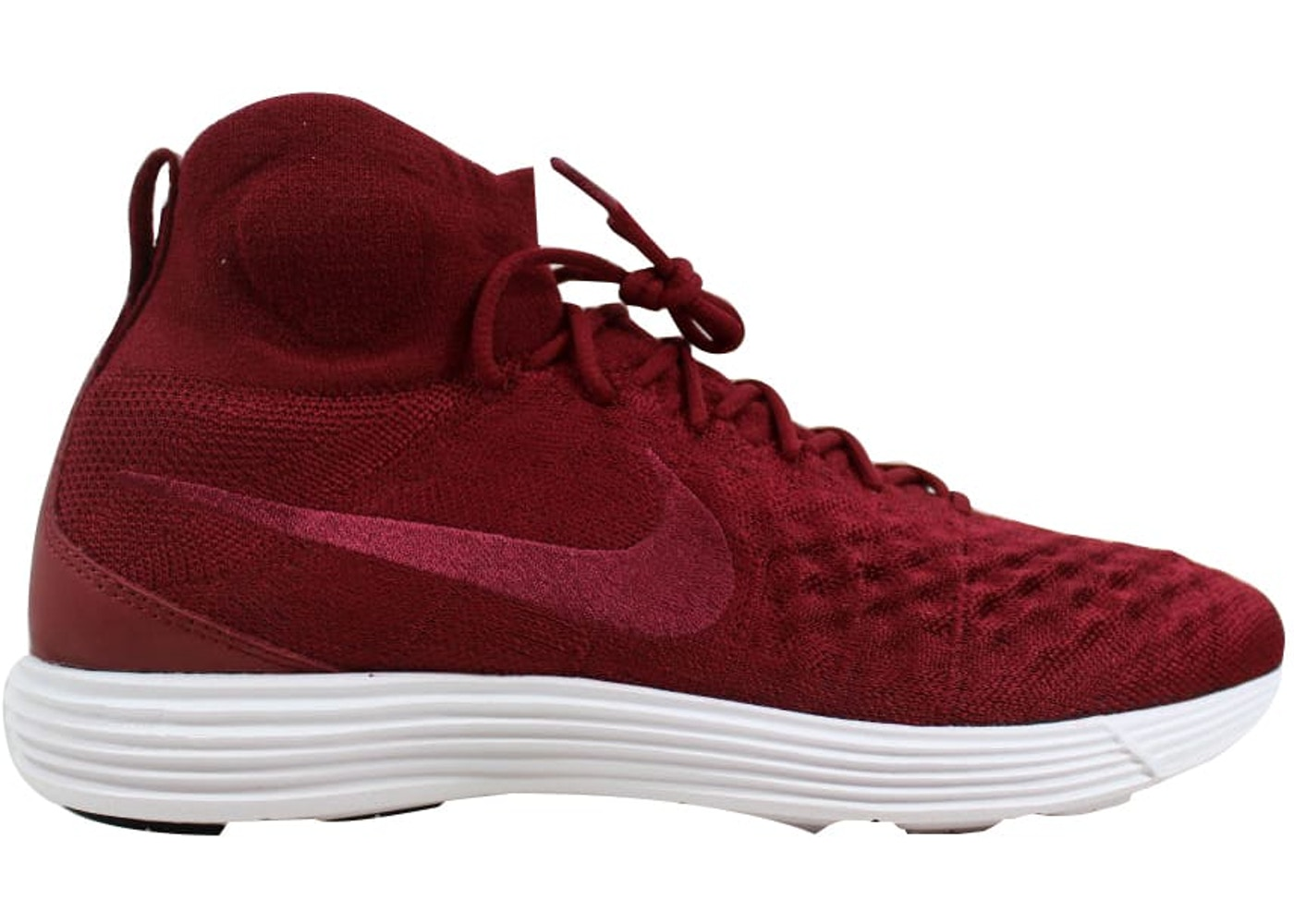 competitive price 884fc 2ee0c Lunar Magista 2 Flyknit Team Red