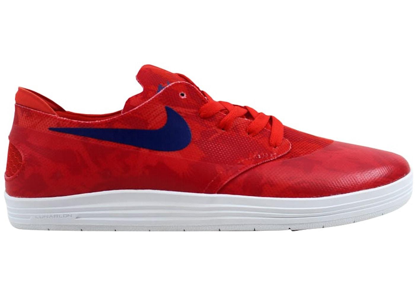 2054a0c8995e Nike Lunar Oneshot SB WC Light Crimson Deep Royal Blue - 645019-604