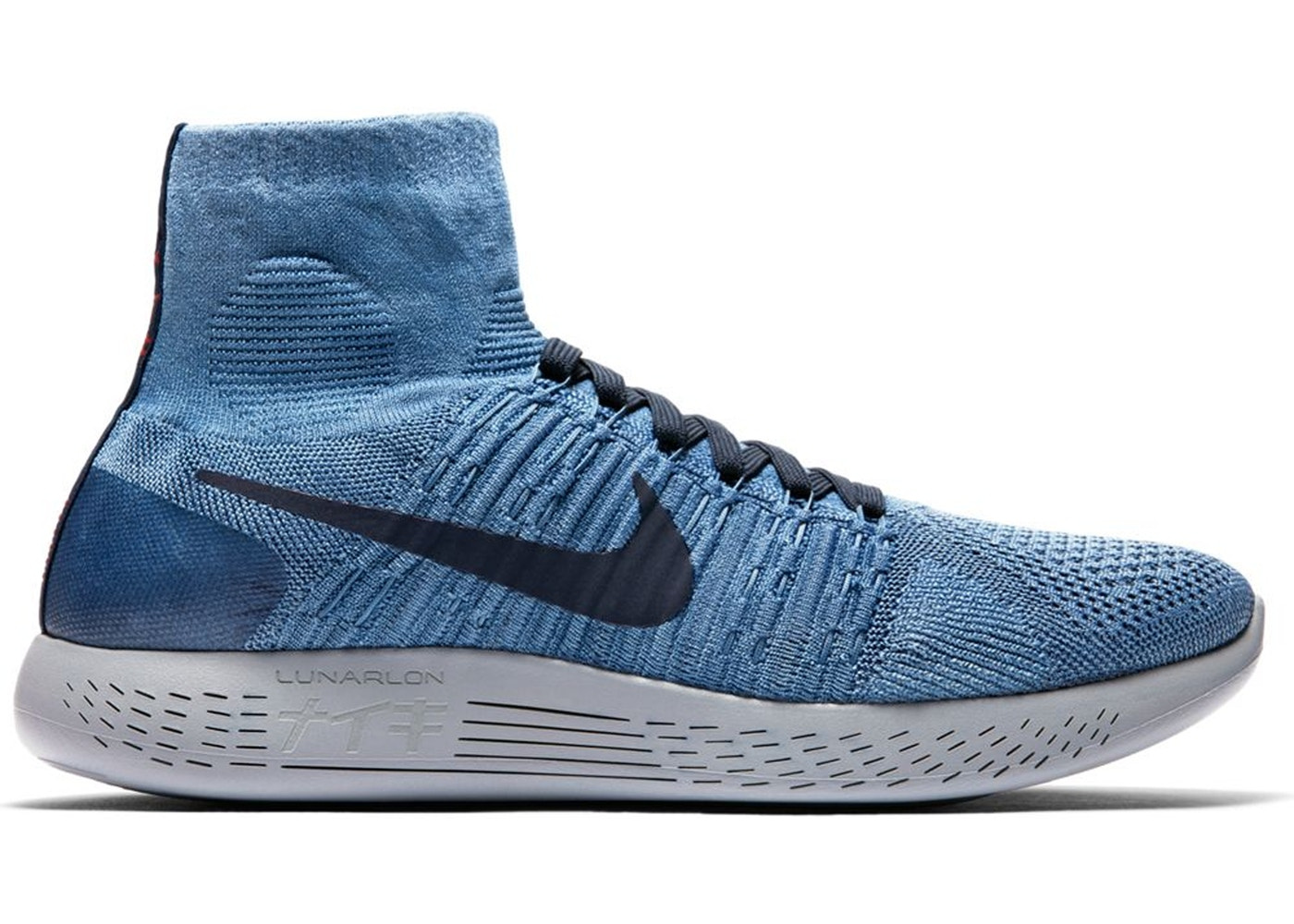 low priced 812a8 39375 Nike Lunarepic Flyknit 1 Indigo - 940804-400
