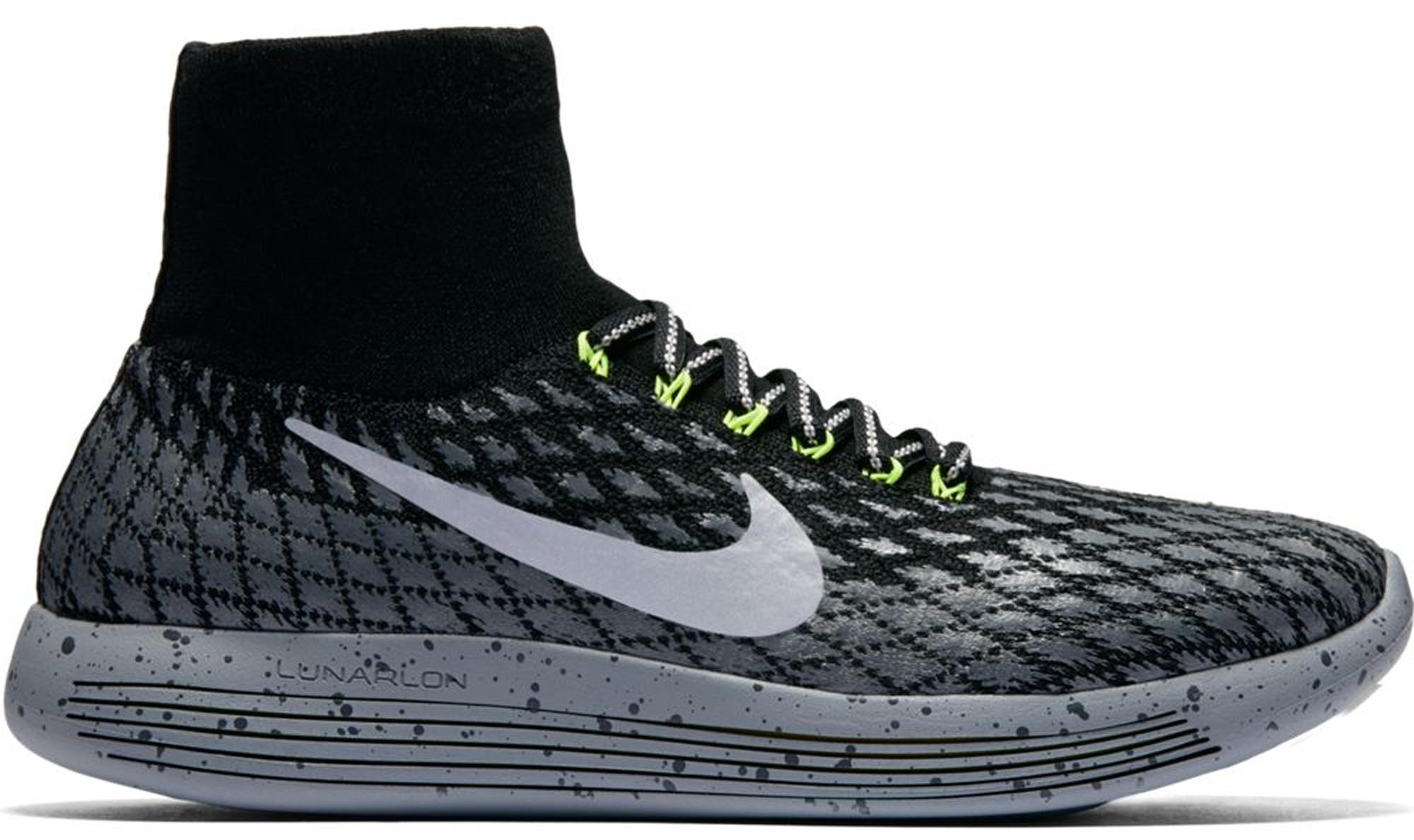 Nike Lunarepic Flyknit Shield Black