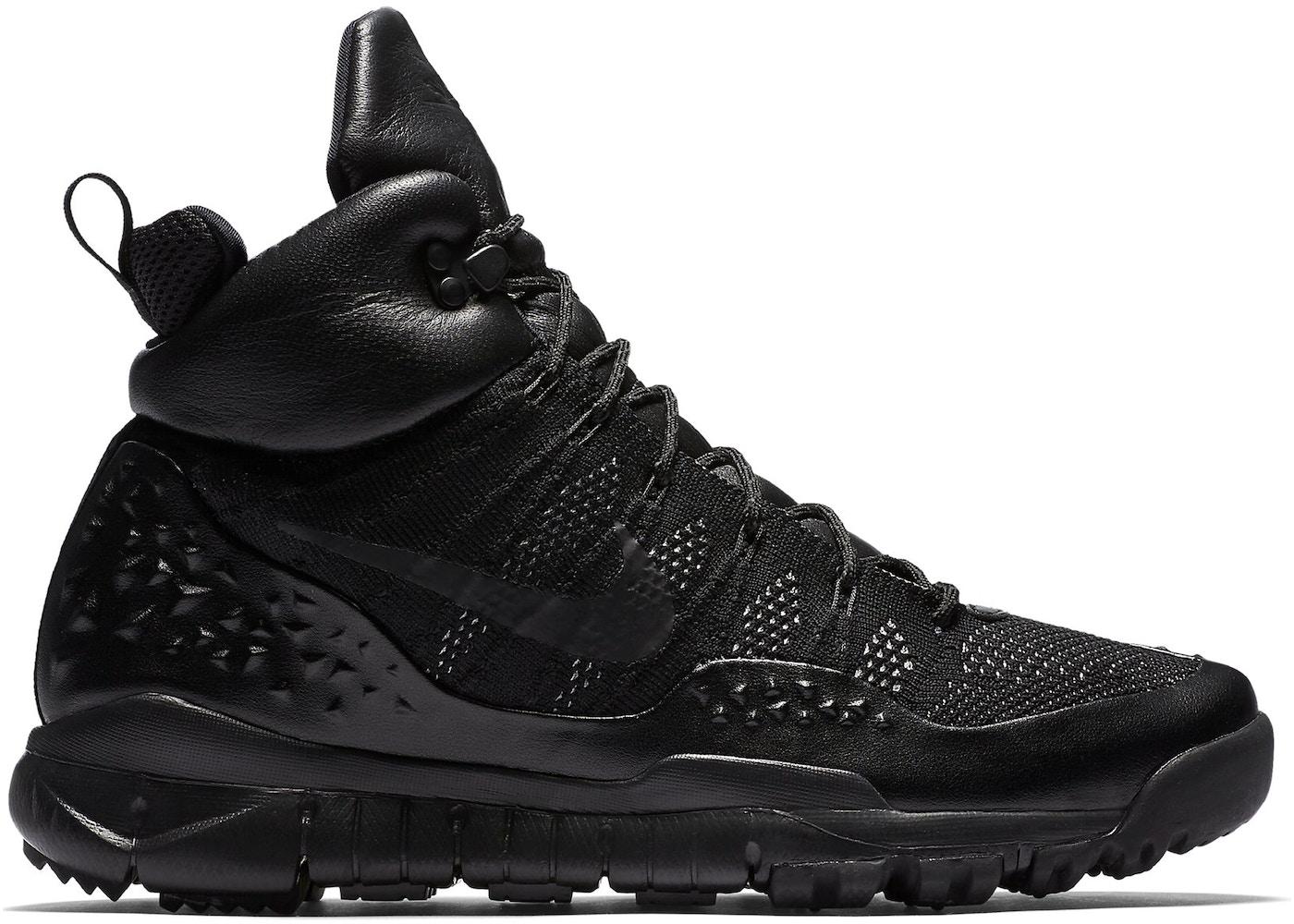 cd73dcc7bad8 Nike Lupinek Flyknit Triple Black - 862505-002