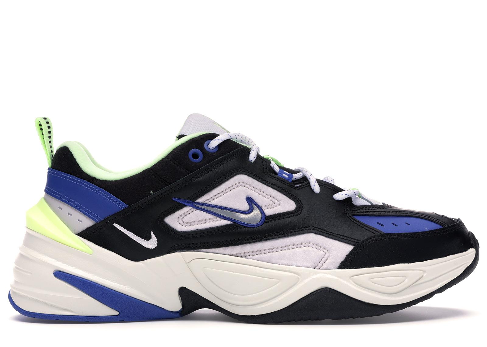 Nike M2K Tekno Black Royal Volt
