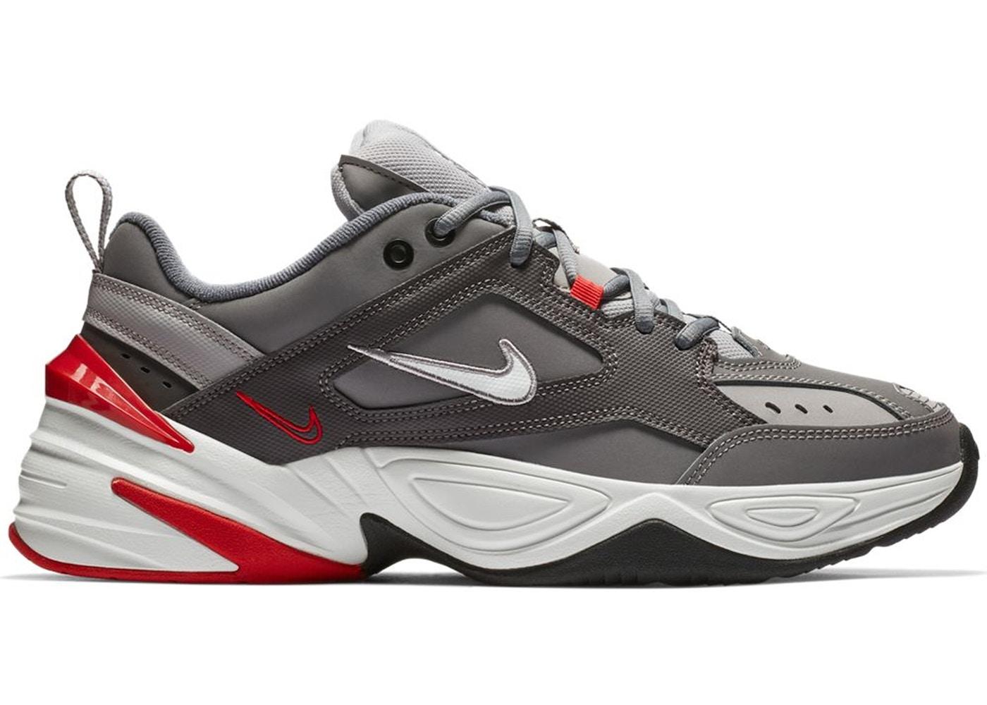 quality design afe53 e942a Nike M2K Tekno Gunsmoke University Red