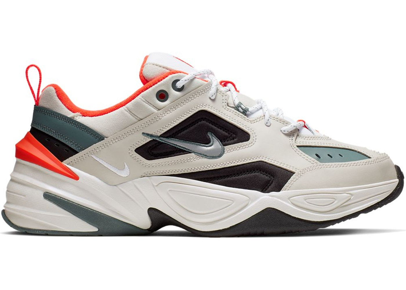 Nike M2K Tekno Light Bone Turf Orange