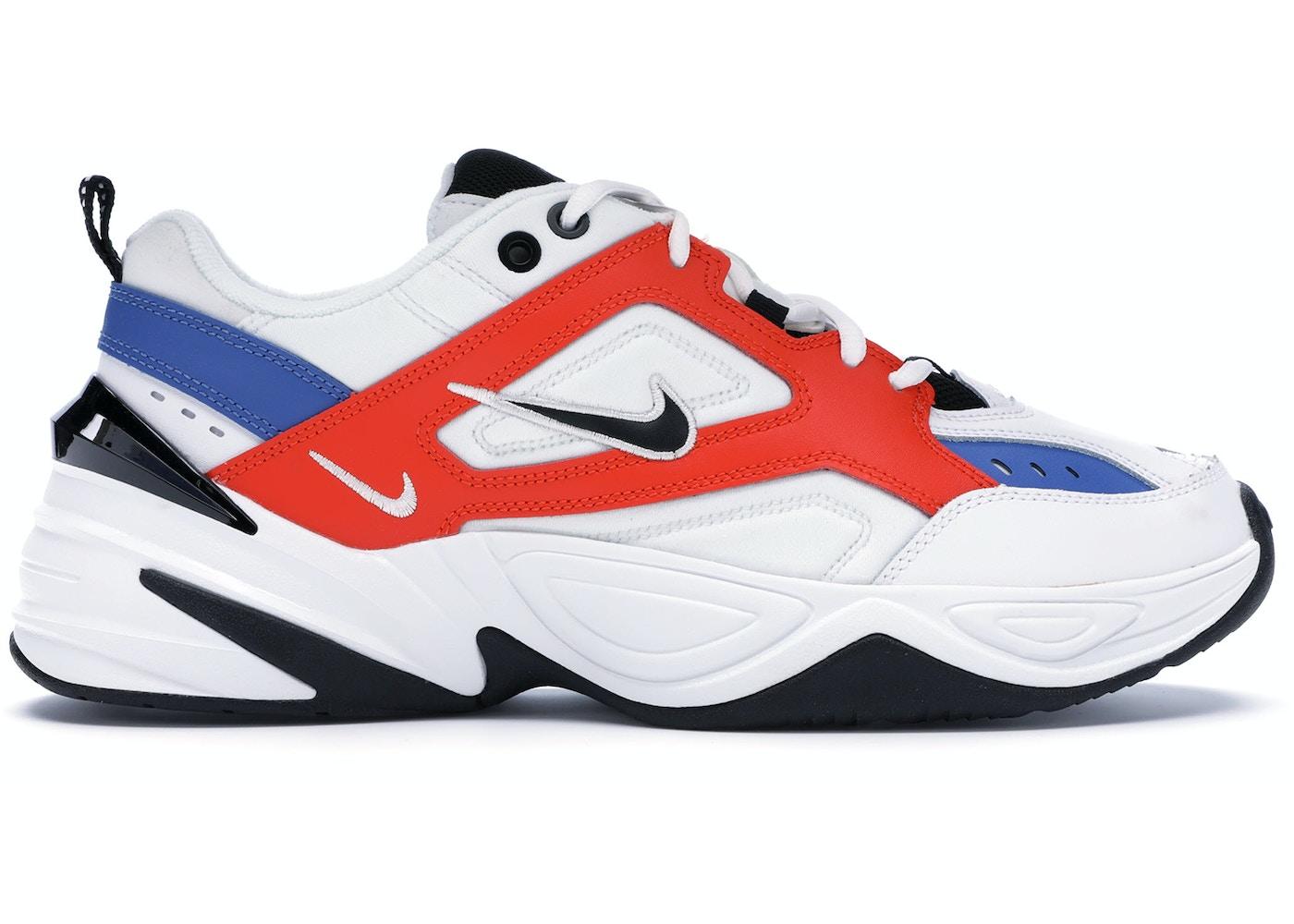 Società Perdonare Impavido  Nike M2K Tekno White Black Orange - AV4789-100