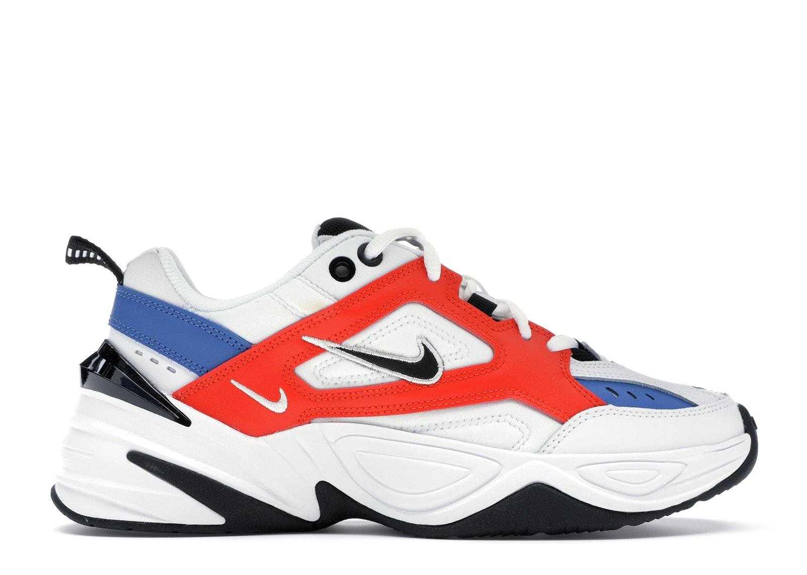 Nike M2K Tekno White Black Orange (W)