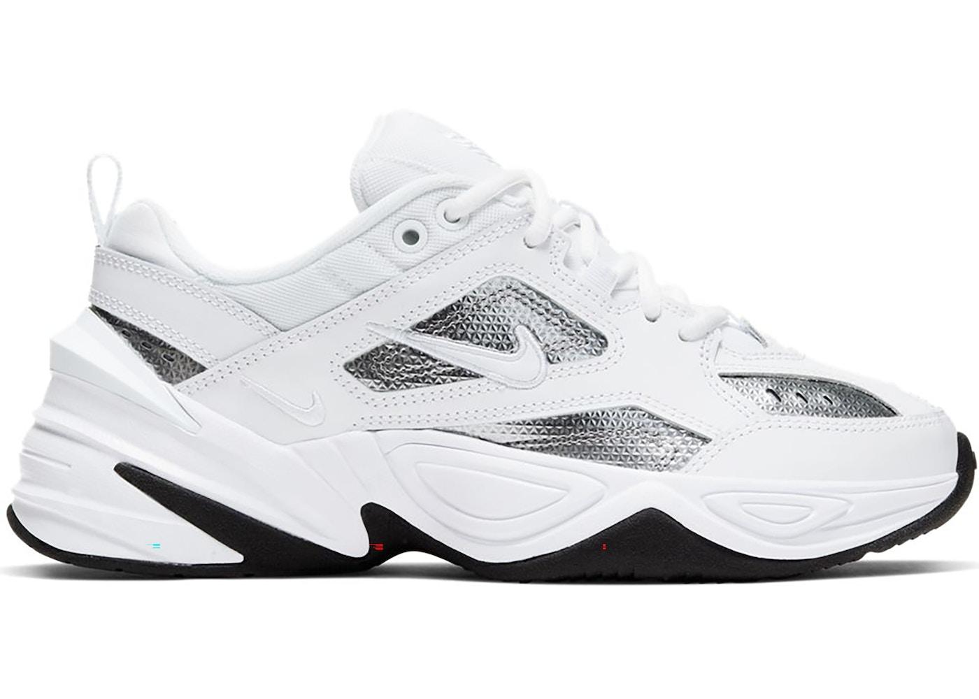 Nike M2K Tekno White Metallic Silver Black (W)