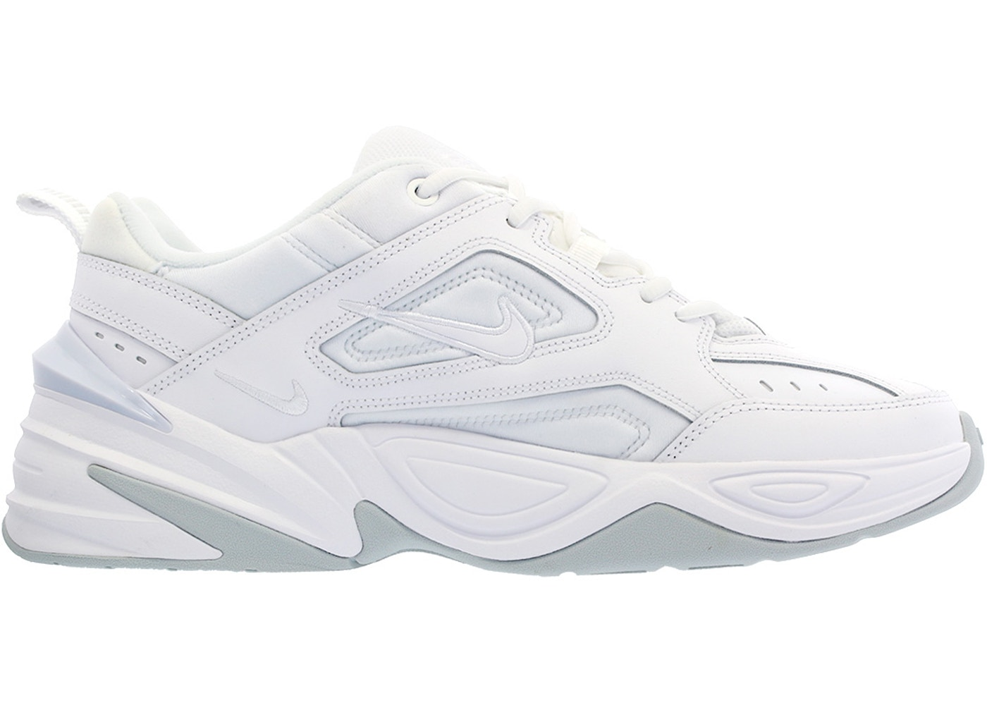 Polar Ilustrar Dime  Nike M2K Tekno White Pure Platinum - AV4789-101