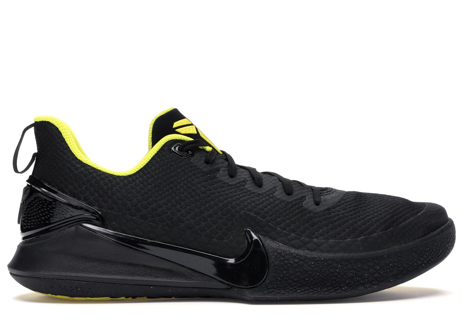 Nike Mamba Focus Black Optimum Yellow