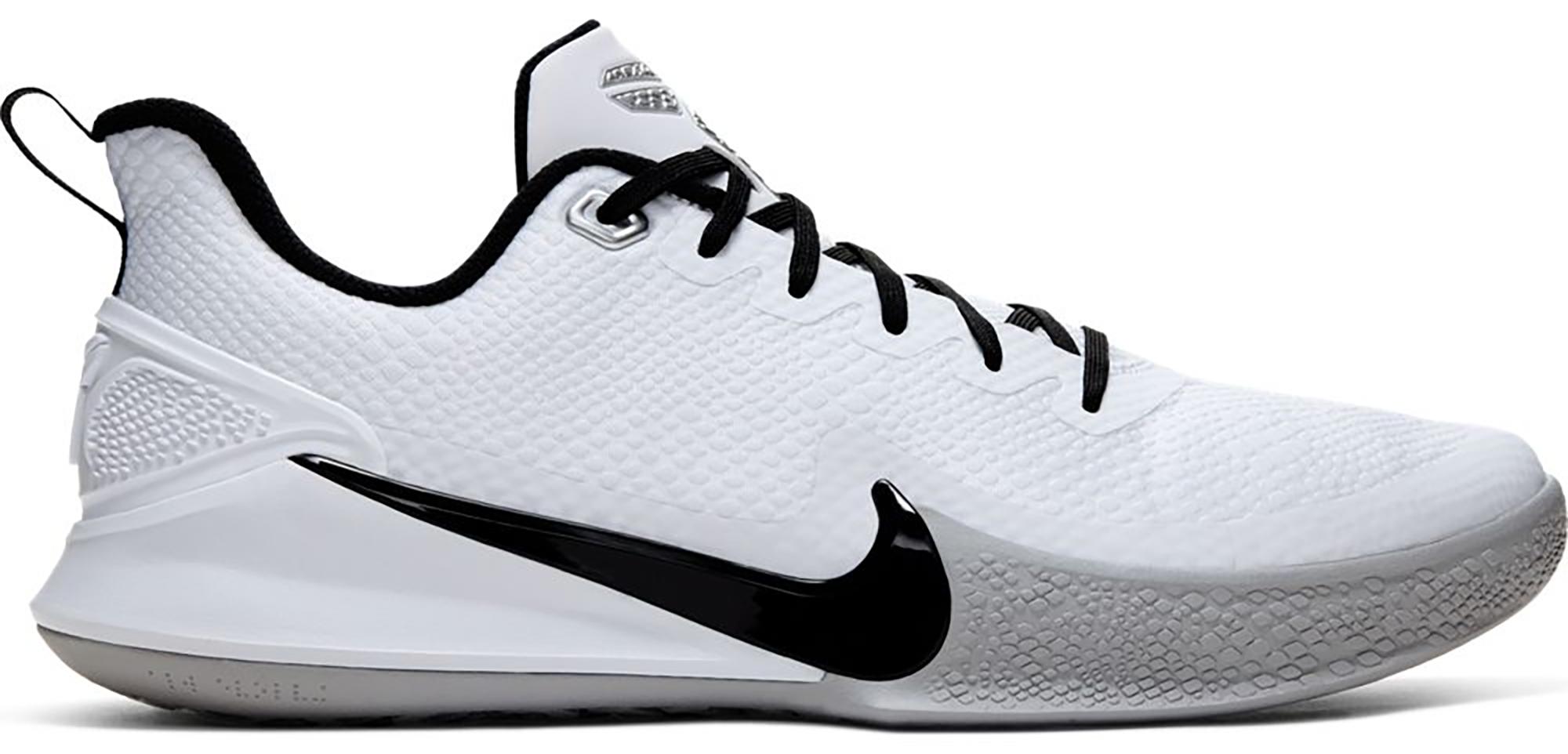 Nike Mamba Focus TB White Wolf Grey