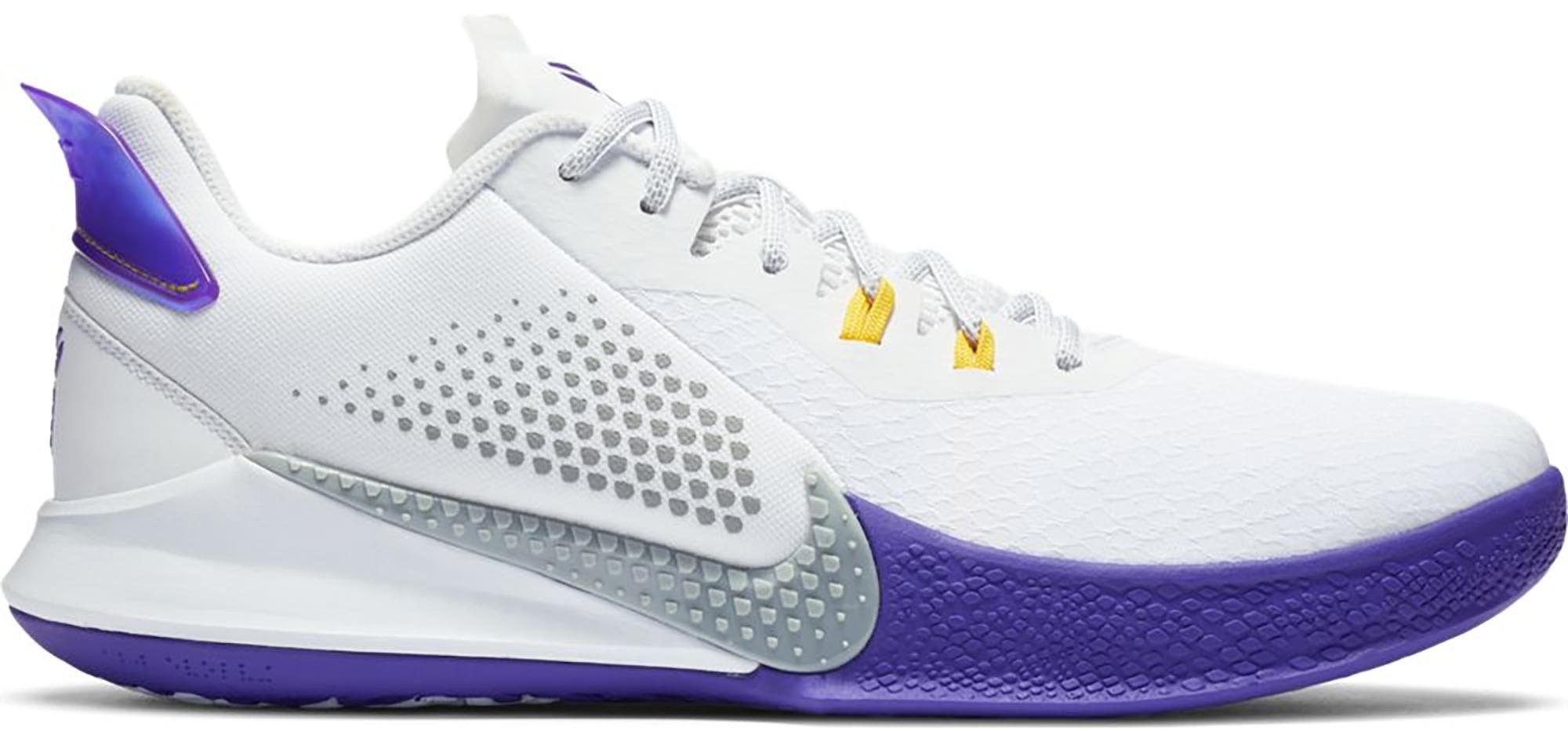 Nike Mamba Fury Lakers Home - CK2087-101