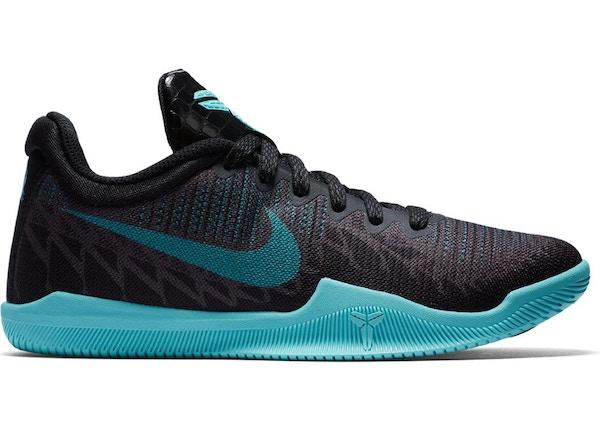 db316adc5510 Nike Mamba Rage Anthracite Aurora Green (GS)