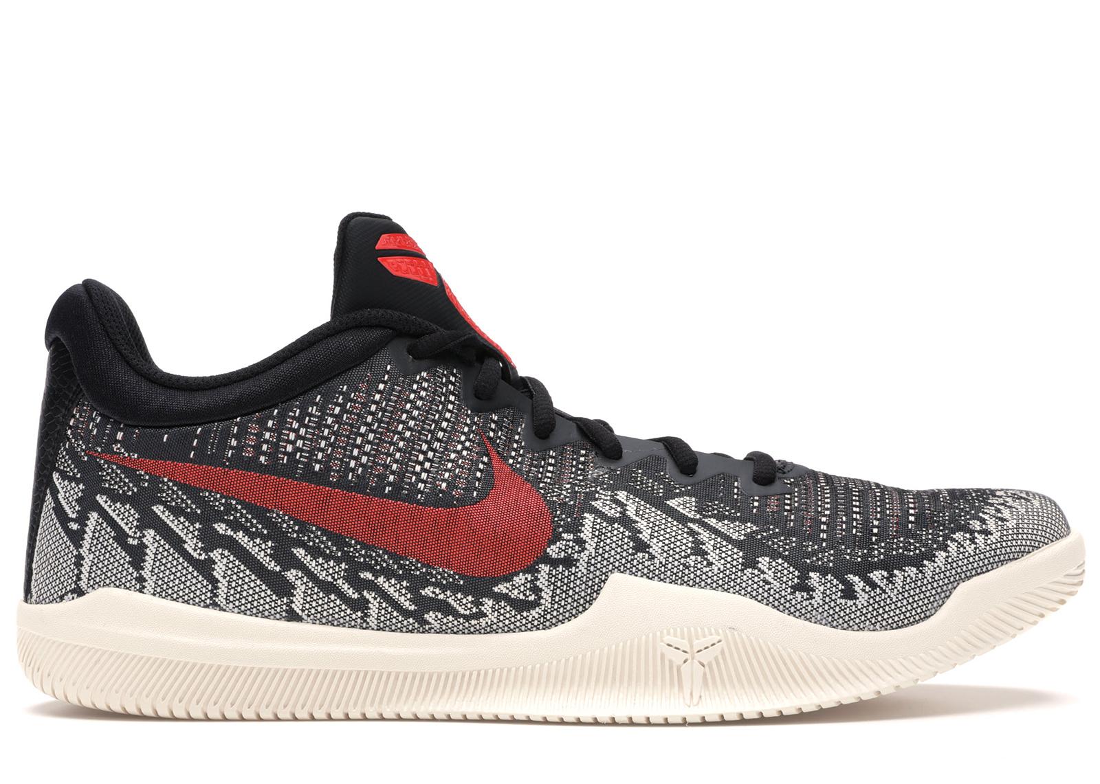 Nike Mamba Rage Black Crimson - 908972-060