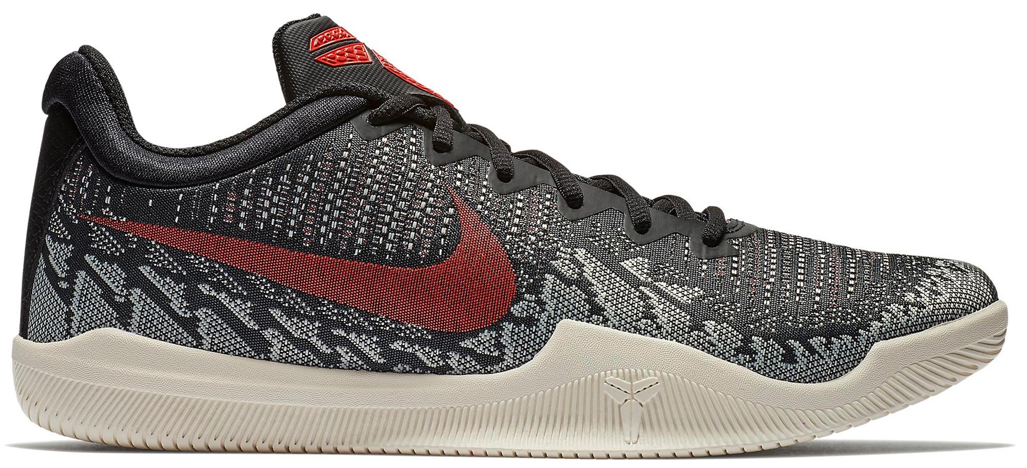 Nike Mamba Rage Black Crimson