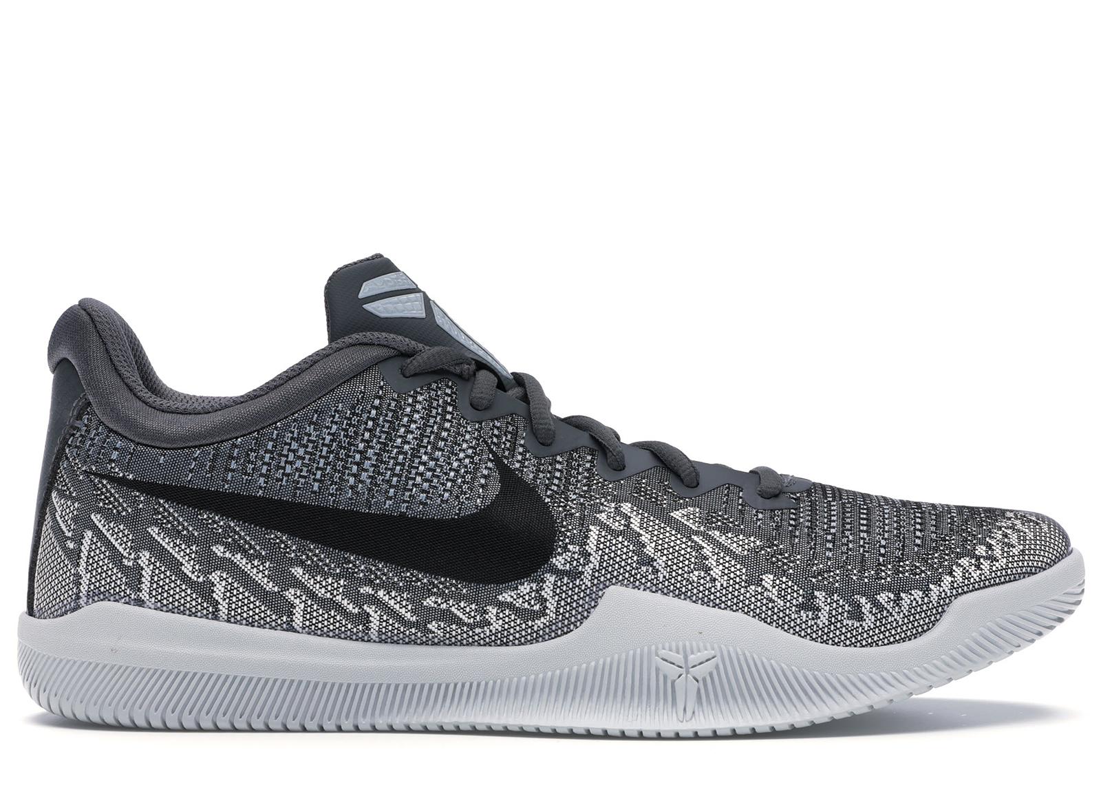 Nike Mamba Rage Dark Grey Pure Platinum